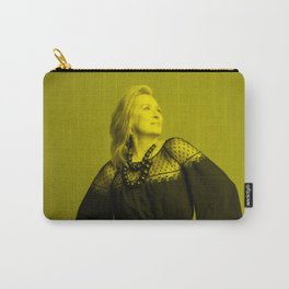 Meryl Streep - Celebrity (Florescent Color Technique) Carry-All Pouch