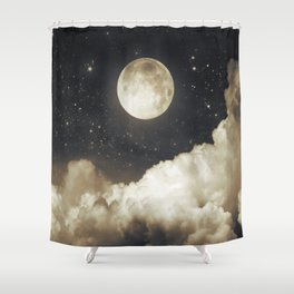 Touch of the moon I Shower Curtain