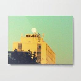 Moon Over Morse Avenue Metal Print