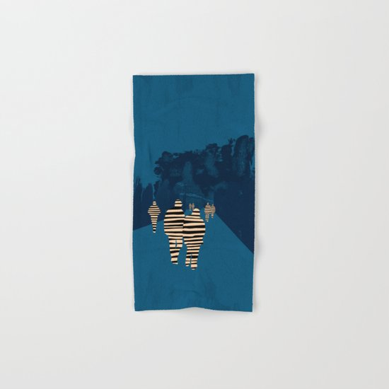 walking for oblivion Hand & Bath Towel