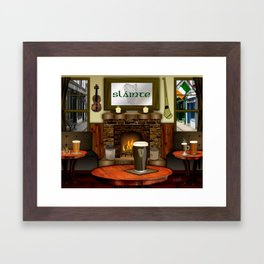 Irish Pub Framed Art Print
