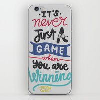 game iPhone & iPod Skins featuring GAME by eugeniaclara