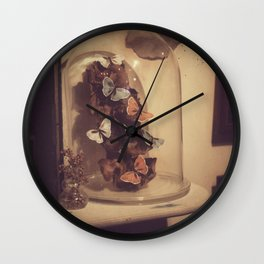 Eternal butterflies Wall Clock