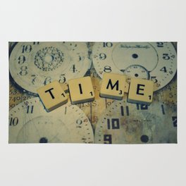 Time goes and goes Rug