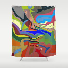Color Theory of the Firmanent - accepted. Shower Curtain