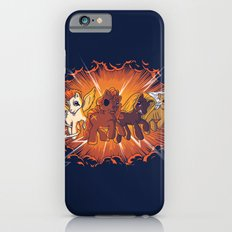 Four Little Ponies of the Apocalypse iPhone 6s Slim Case