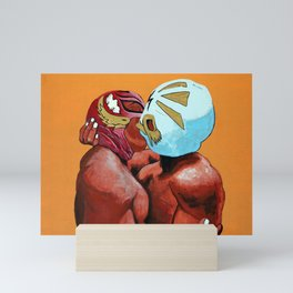 Lucha de Amor Mini Art Print