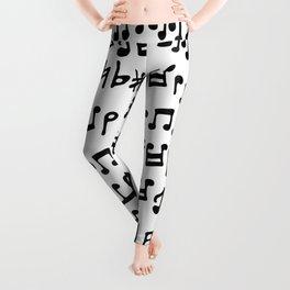 Lots O Music Notes Leggings
