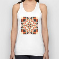 southwest Tank Tops featuring Southwest Quilt #1 by Little Things Studio