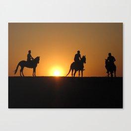 Three Horsemen Canvas Print