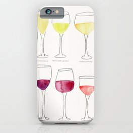 Wine Collection iPhone Case
