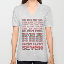Monica teaches Chandler 7 erogenous zones in F.R.I.E.N.D.S. Unisex V-Neck