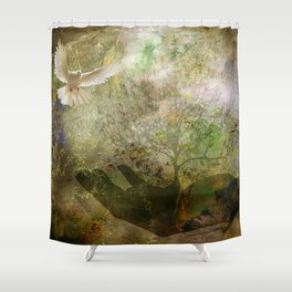 Trees For Peace Shower Curtain
