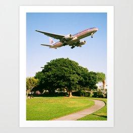 AA 777-200 Art Print