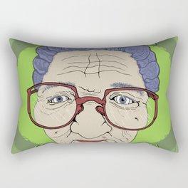 Grandma Goes Vegan Rectangular Pillow