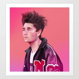 Dan Smith - Flaws Art Print