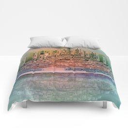 Memory Island Comforters