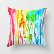 Colors of life : Colors Series 3 Throw Pillow
