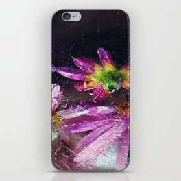 Coreopsis in Ice iPhone Skin