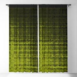 Black olive mosaic Blackout Curtain