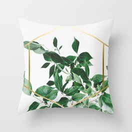 LUXURY x GOLD Throw Pillow