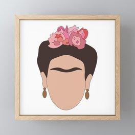 Fierce Frida Framed Mini Art Print