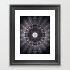 Suki (Space Mandala) Framed Art Print