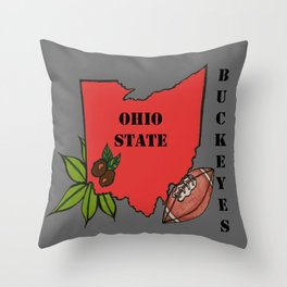 Ohio State Throw Pillow
