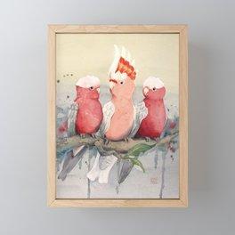 On Wednesdays we Wear Pink Framed Mini Art Print