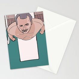 Herman Blume (Bill Murray) on Diving Board (Rushmore) Stationery Cards