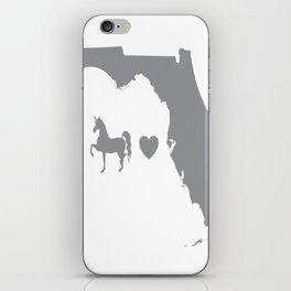 Unicorns Love Florida iPhone Skin