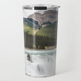 Athabasca Falls, Jasper Travel Mug