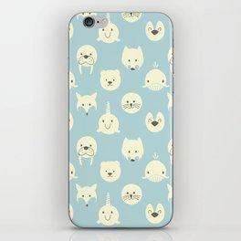 Arctic animals iPhone Skin