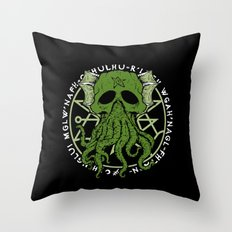 The Great Monster Throw Pillow