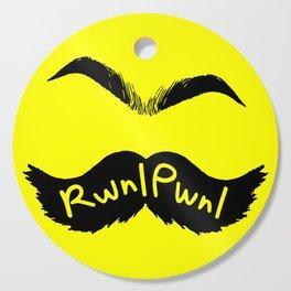 RwnlPwnl Mustache Cutting Board