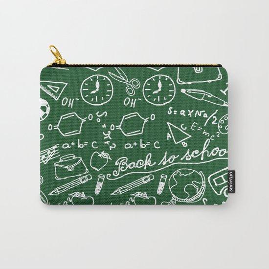 School teacher #8 Carry-All Pouch