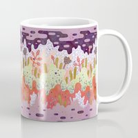 forest Mugs featuring Crystal Forest by LordofMasks