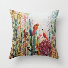 la romance Throw Pillow