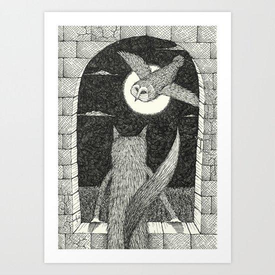 'Tower Window' Art Print