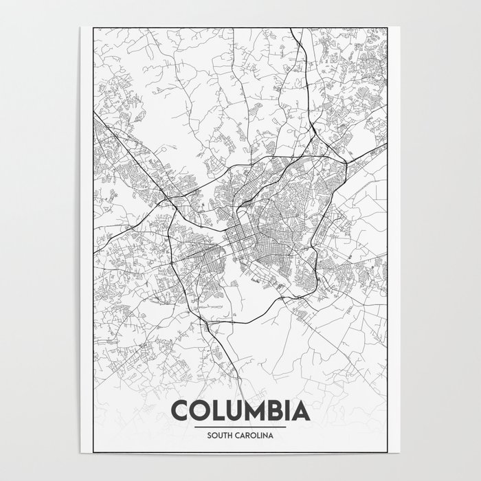 Minimal City Maps - Map Of Columbia, South Carolina, United States on map of england and united states, mid south united states, map of union confederate border states, map of west of united states, view map of united states, map of east coast united states, map of alabama, map of new york united states, map of airports in united states, interstate map of united states, south central united states, map of united states to australia, outline map of united states, bing maps of the united states, map of united states of america, map of mid united states, map of eastern states of united states, map of midsouth united states, north east south west united states, map of western united states,