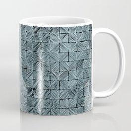 Ink Stitch: Aquamarine (green-shade) Coffee Mug