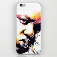 notorious big iPhone & iPod Skins featuring The Notorious BIG by NEKVI