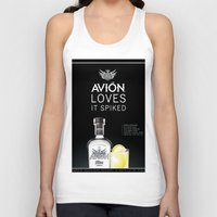 tequila Tank Tops featuring Avion Tequila by John D'Amelio