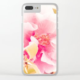 camellia I Clear iPhone Case