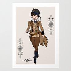 Evelyn Hayes Art Print