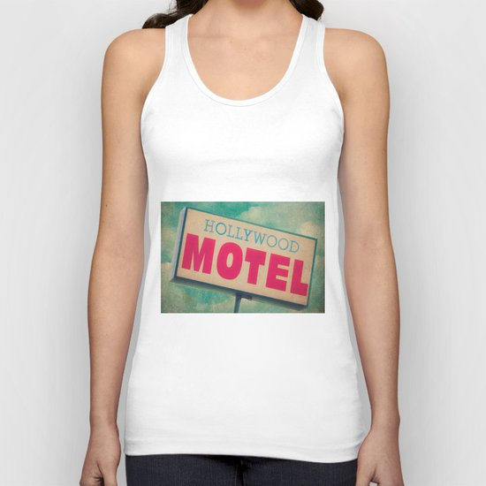 The Hollywood No-Tell Motel Unisex Tank Top