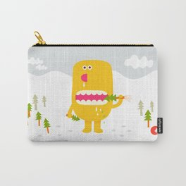 Pine time snacking  Carry-All Pouch