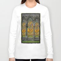 doors Long Sleeve T-shirts featuring Doors by Nicholas Bremner - Autotelic Art
