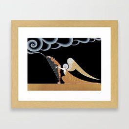 "Art Deco Design ""The Angel"" Framed Art Print"