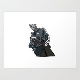 Gangsta Gibbs Art Print